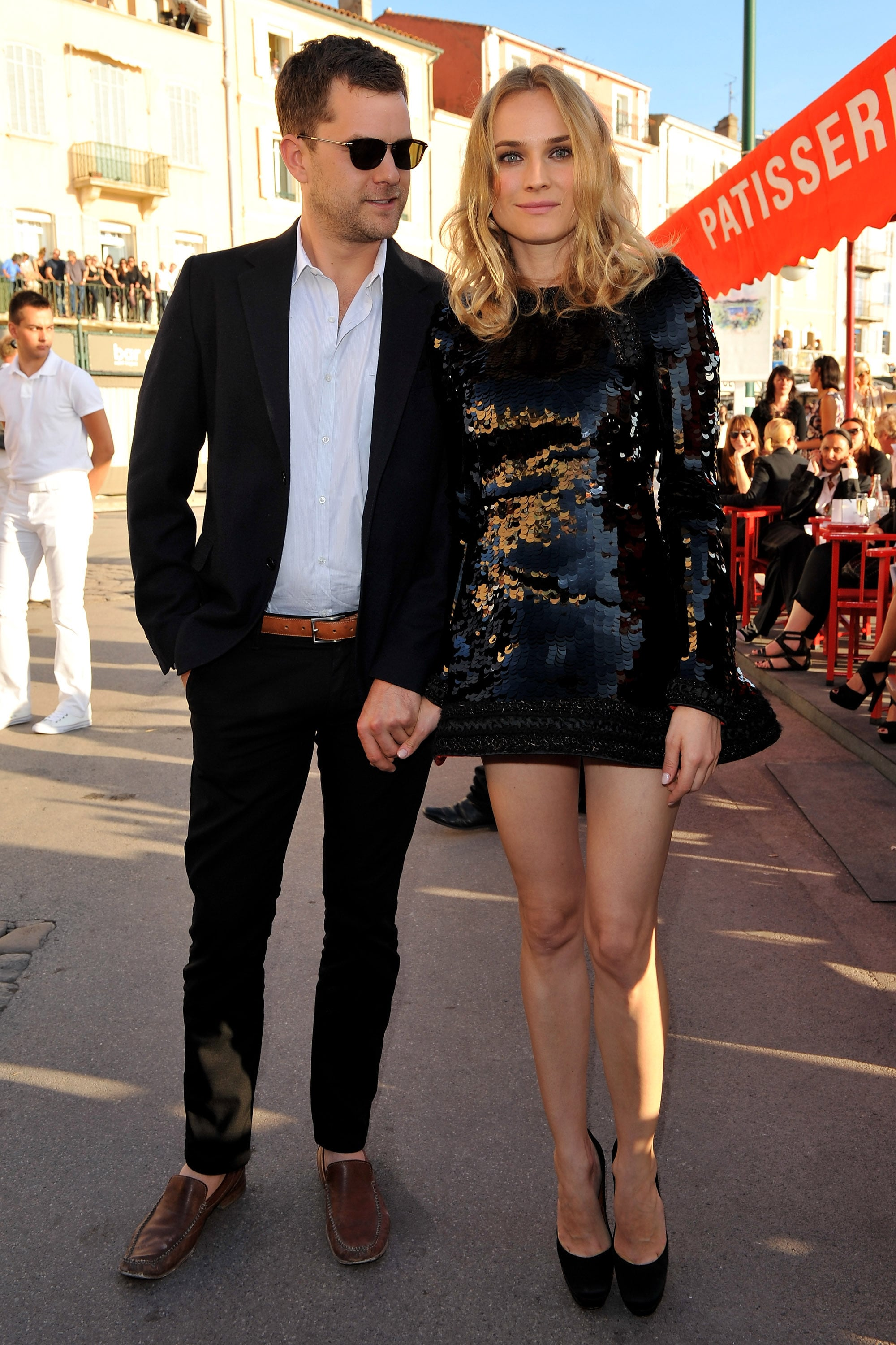 She showed off her legs in a hot sequined mini for the Chanel Cruise Collection presentation in 2010.