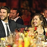 Photos of Liam and Miley at the Gala