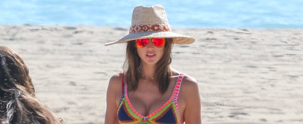 Alessandra Ambrosio Flaunts Her Figure in a Sexy Bikini on the Beach in Malibu