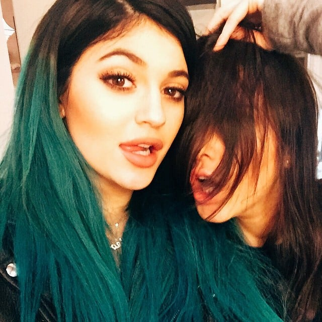 Kylie And Kendall Jenner Took A Stylish Selfie While Celebrating