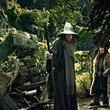 Ian McKellan and Richard Armitage in The Hobbit: An Unexpected Journey.
