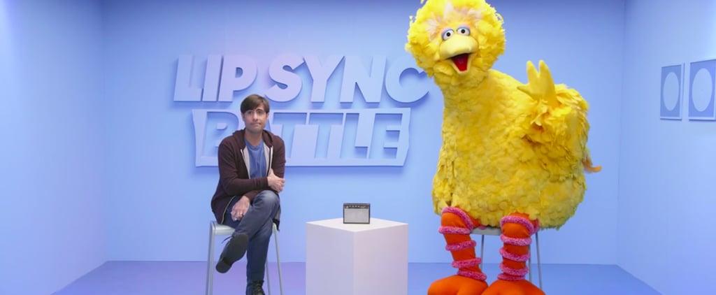 Big Bird and Jason Schwartzman Lip Sync Battle Pregame Video
