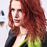 Bella Thorne's Rainbow Hair at the American Music Awards