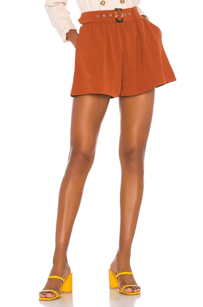 Song of Style Mae Short in Brown Sienna from Revolve.com