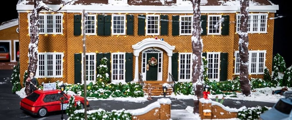 Giant Home Alone McCallister Gingerbread House | Photos