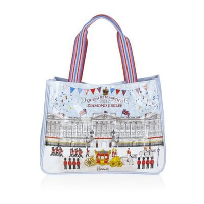 Shop Diamond Jubilee Scarves and Bags