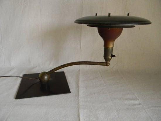 Lamp Desk Vintage Cantilevered Sight Light, $225