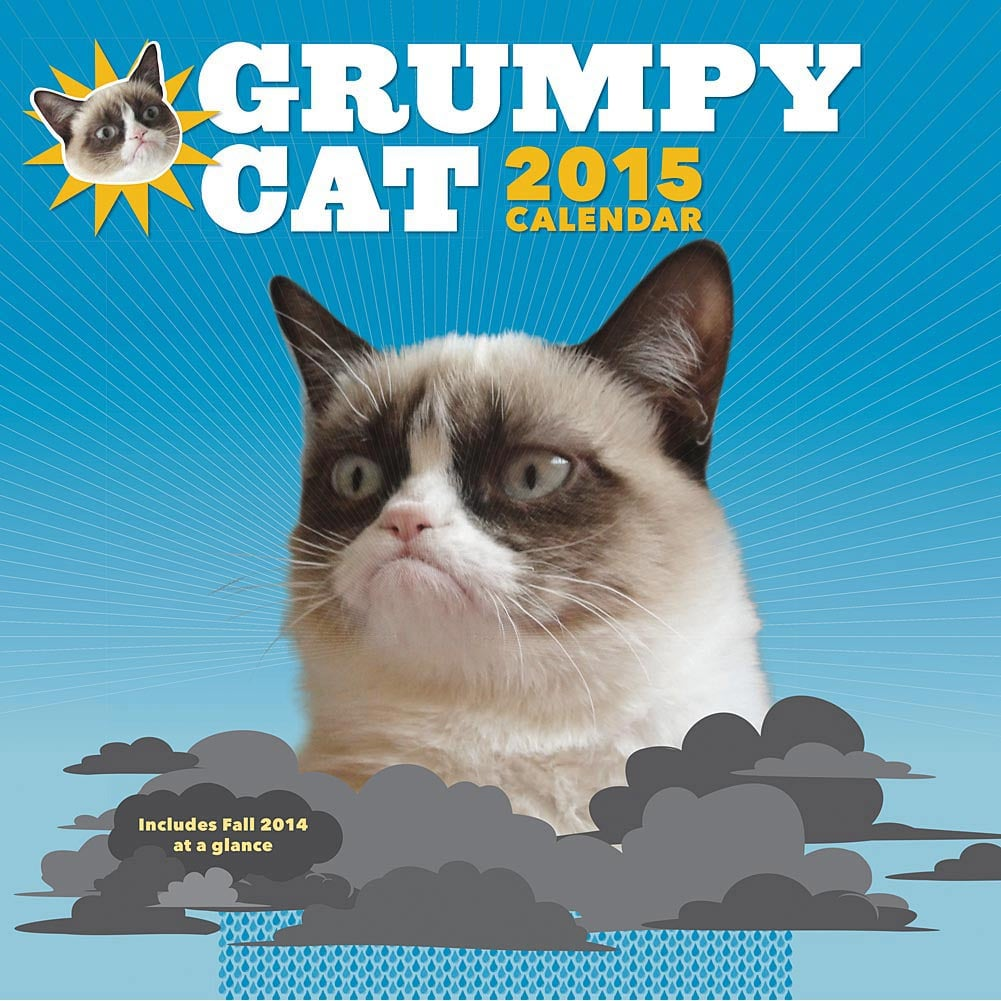 Grumpy Cat Calendar ($14)