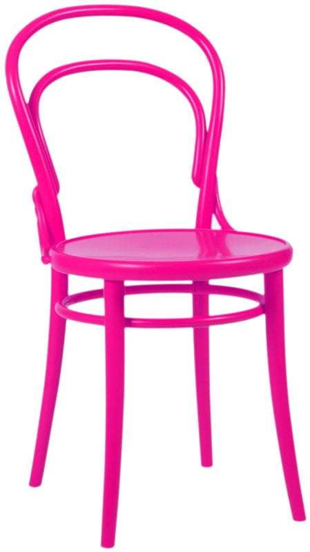 Hot Pink Thonet Chair