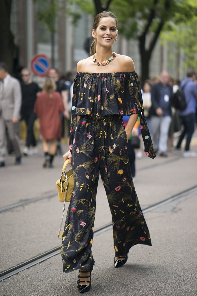 Izabel Goulart at Milan Fashion Week