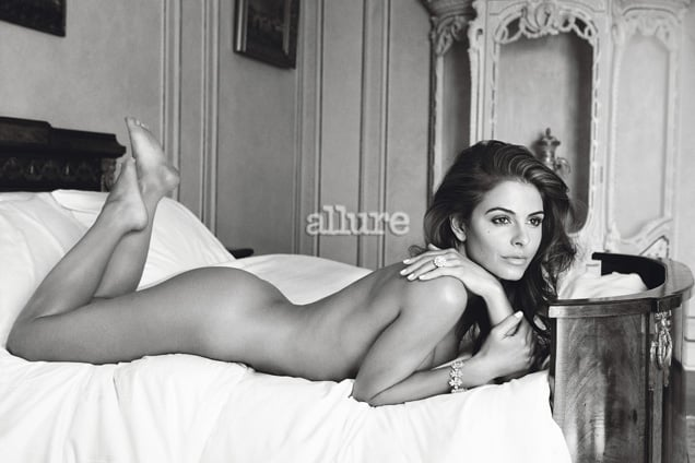 Maria Menounos photographed by Patrick Demarchelier for Allure