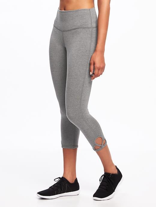 3a611fd462691a Old Navy High-Rise Cut-Out Yoga Crops | Best Fitness Gifts ...