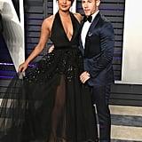 Priyanka Chopra and Nick Jonas at the 2019 Vanity Fair Oscars Afterparty