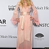 On the Red Carpet, She's a Bohemian Goddess