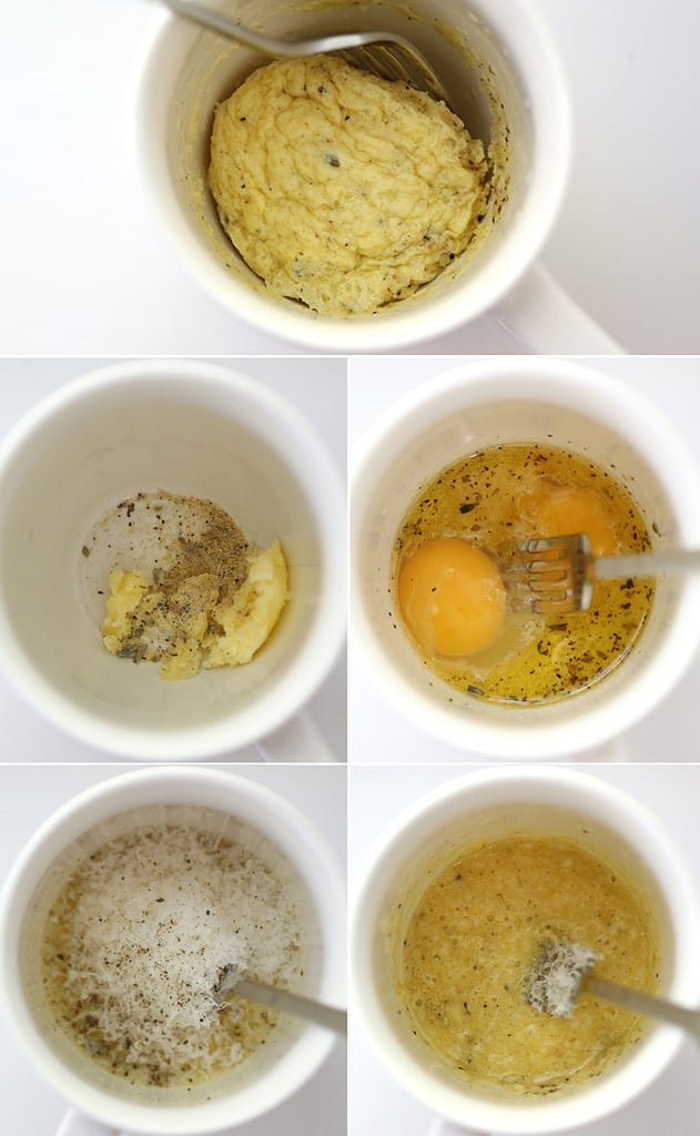 Make a 1-minute omelet.