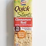 Lance Quick Starts Cinnamon Roll