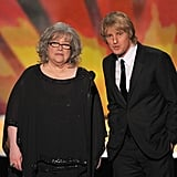Owen Wilson and Kathy Bates