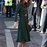 Kate Middleton's Green Beulah London Dress January 2019