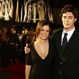 Adam Brody and Rachel Bilson at the 2003 Emmy Awards
