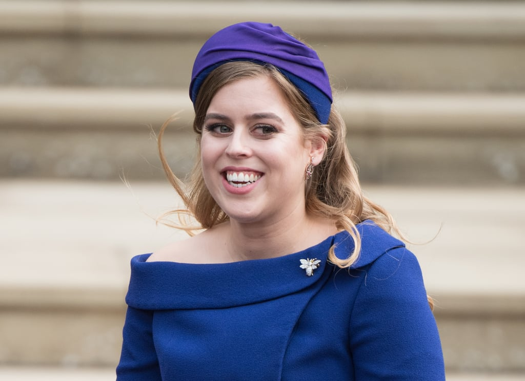 Princess Beatrice at Princess Eugenie's Wedding in 2018