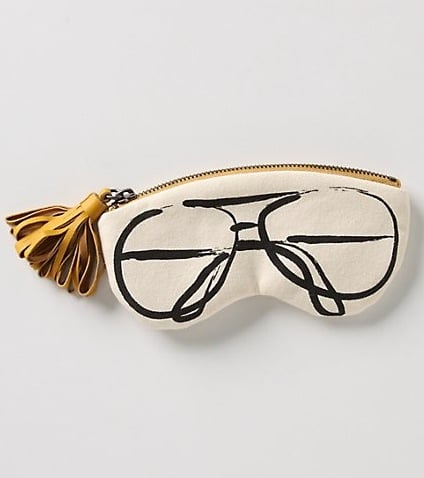 Anthropologie Ink Sketched Glasses Pouch ($24)