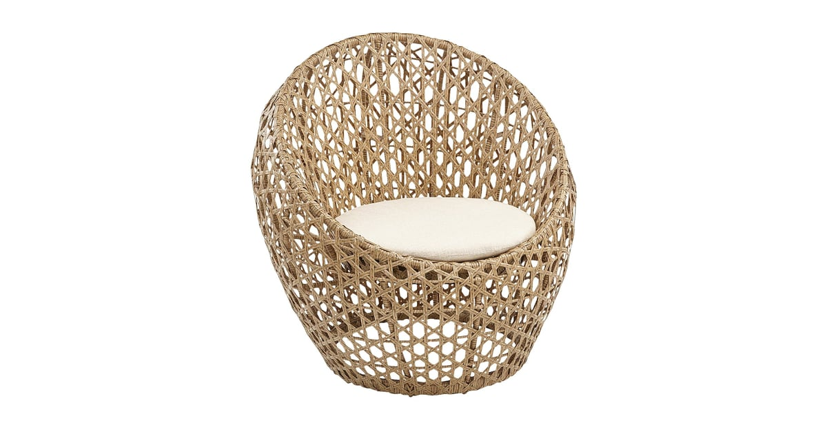 Sand Birds Nest Chair With Round Cushion | Hello, Summer Sales! Pier 1u0027s  Outdoor Goods Are So Affordable, We Need A Bigger Backyard | POPSUGAR Home  Photo 38