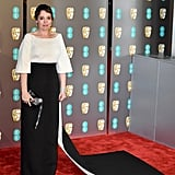Olivia Colman at the 2019 BAFTA Awards