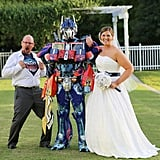 Transformer and Pac-Man Themed Wedding