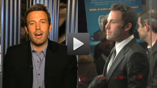 Video of Ben Affleck at The Company Men Premiere in New York