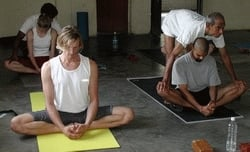 Fittingly Mad:  Don't Touch Me - Yoga Assists Gone Wrong