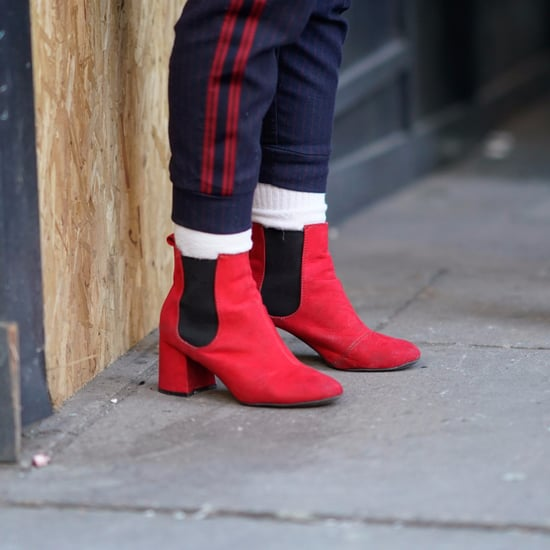 Dare to Wear Red Boots This Winter