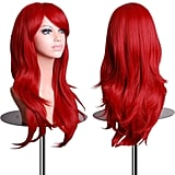 28-Inch Cosplay Red Wig