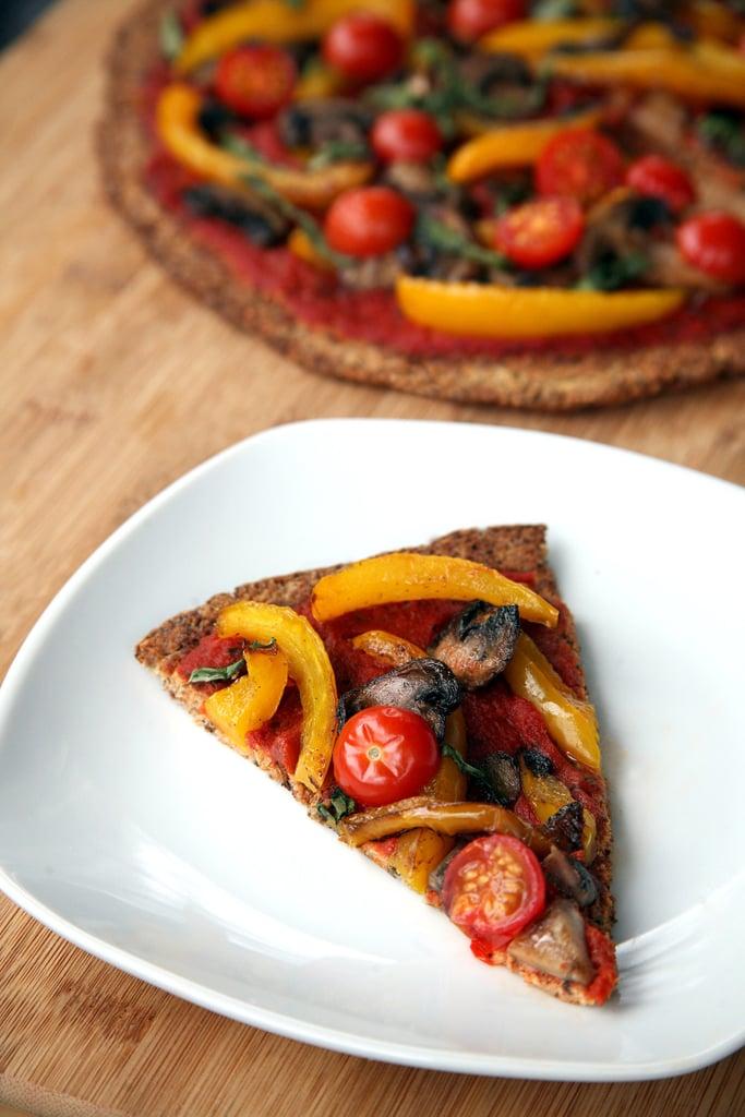 Low-Cal, Dairy-Free Cauliflower Pizza Crust