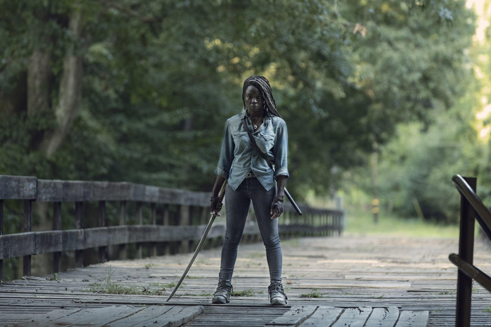 Danai Gurira as Michonne - The Walking Dead _ Season 9, Episode 9 - Photo Credit: Jackson Lee Davis/AMC