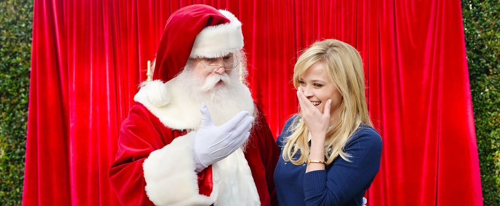 Reese Witherspoon Secures Her Spot on the Nice List While Mingling With Santa at a Charity Event