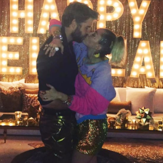 Miley Cyrus and Liam Hemsworth New Year's Eve Pictures 2016