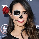 Jordana Brewster as a Day of the Dead Skeleton