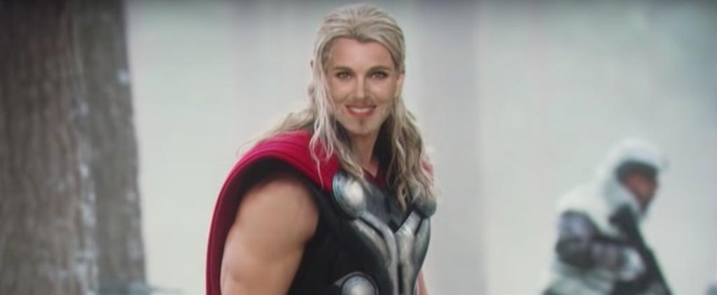 Natalie Portman Talking About Thor on Ellen DeGeneres Video