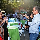 Jerry Seinfeld posed with some kids at the 2013 Baby Buggy Bedtime Bash.