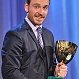 Michael Fassbender nabbed the Volpi Cup for best actor.