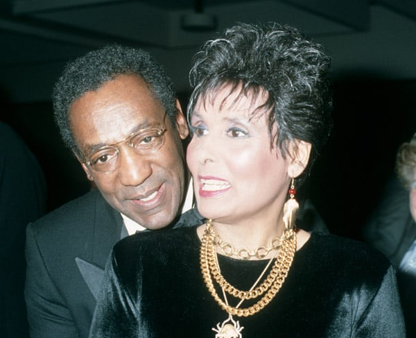 Lena and Bill Cosby in 2000.