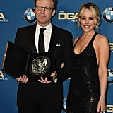 Pictured: Rachel McAdams and Tom McCarthy