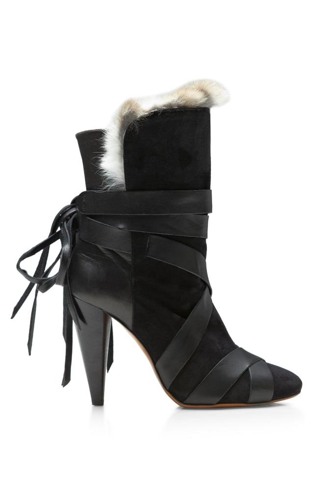 Isabel Marant fur-lined Neta boot ($1,435)