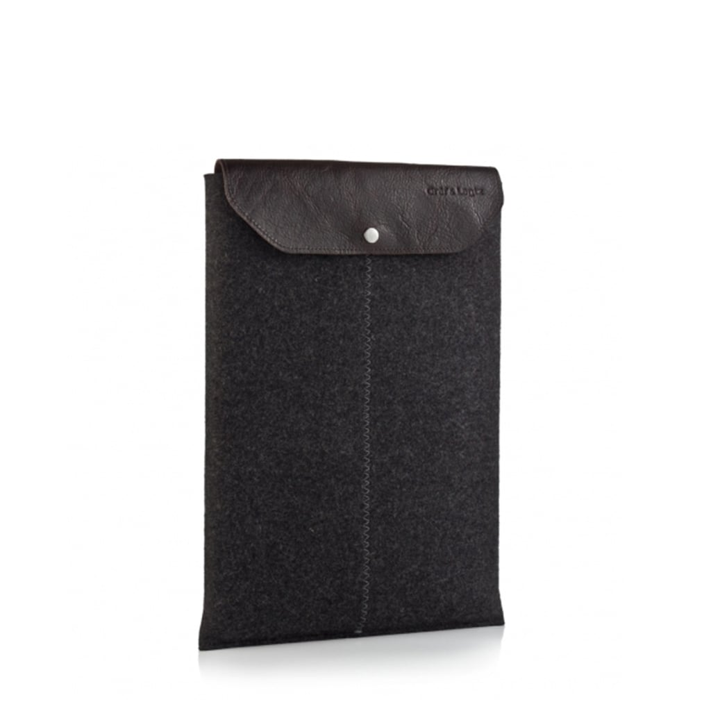 This felt and leather sleeve ($60) from Gräf & Lantz will make any computer that much sleeker.