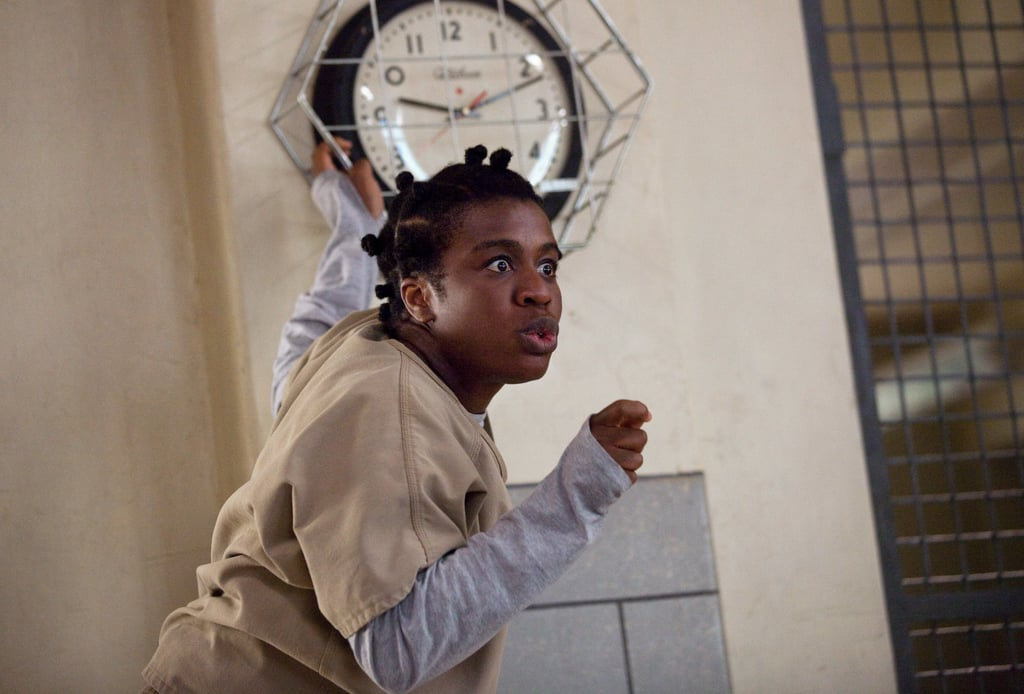 "Uzo Aduba as Suzanne ""Crazy Eyes"" Warren"
