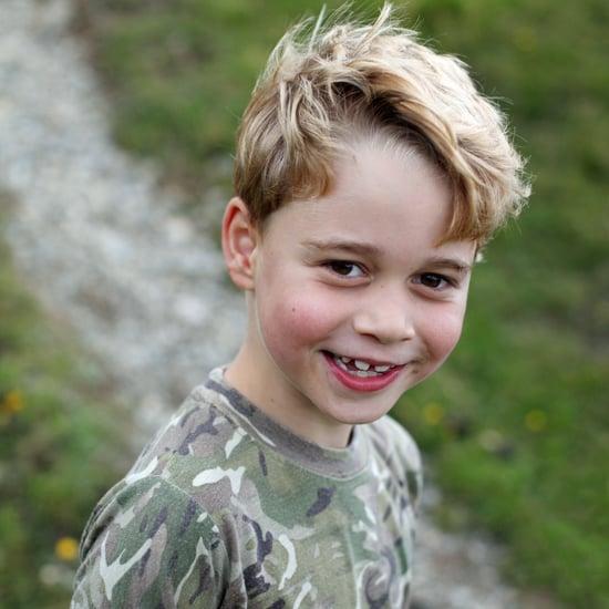 See Prince George's 7th Birthday Portraits