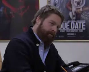 Video of The Hangover's Zach Galifianakis Interviewing Kids as Potential Personal Assistants on SNL