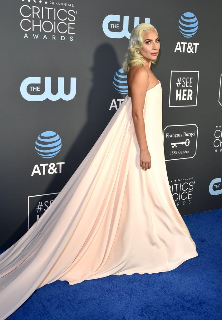 Lady Gaga Dress at the Critics' Choice Awards 2019