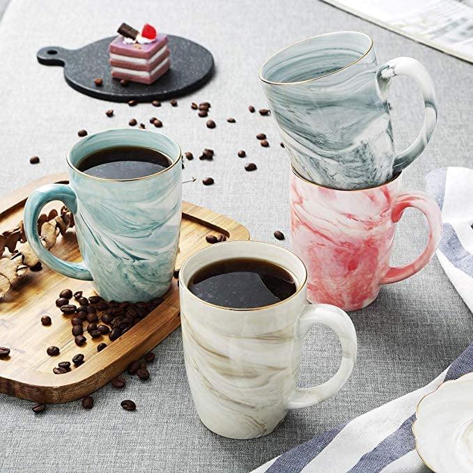Hoomeet Marble Ceramic Coffee Mugs