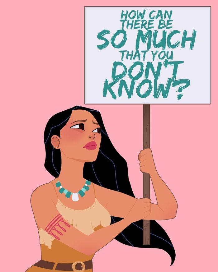Protest Princess: Pocahontas ($17)